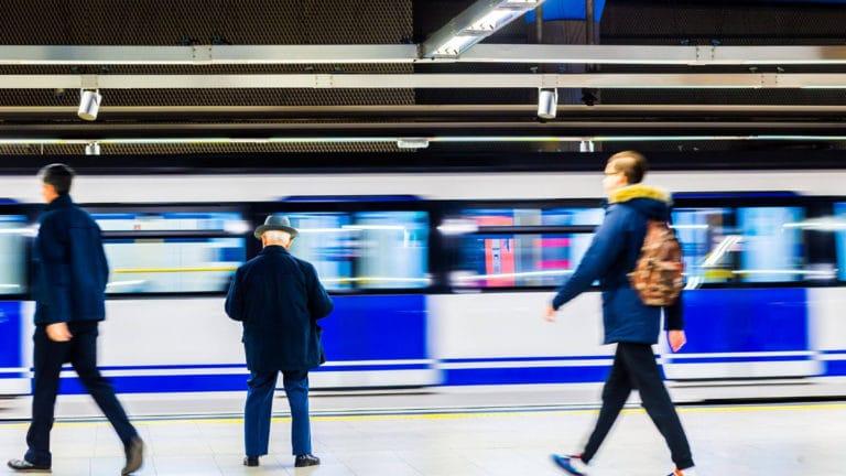 L8 Metro Madrid