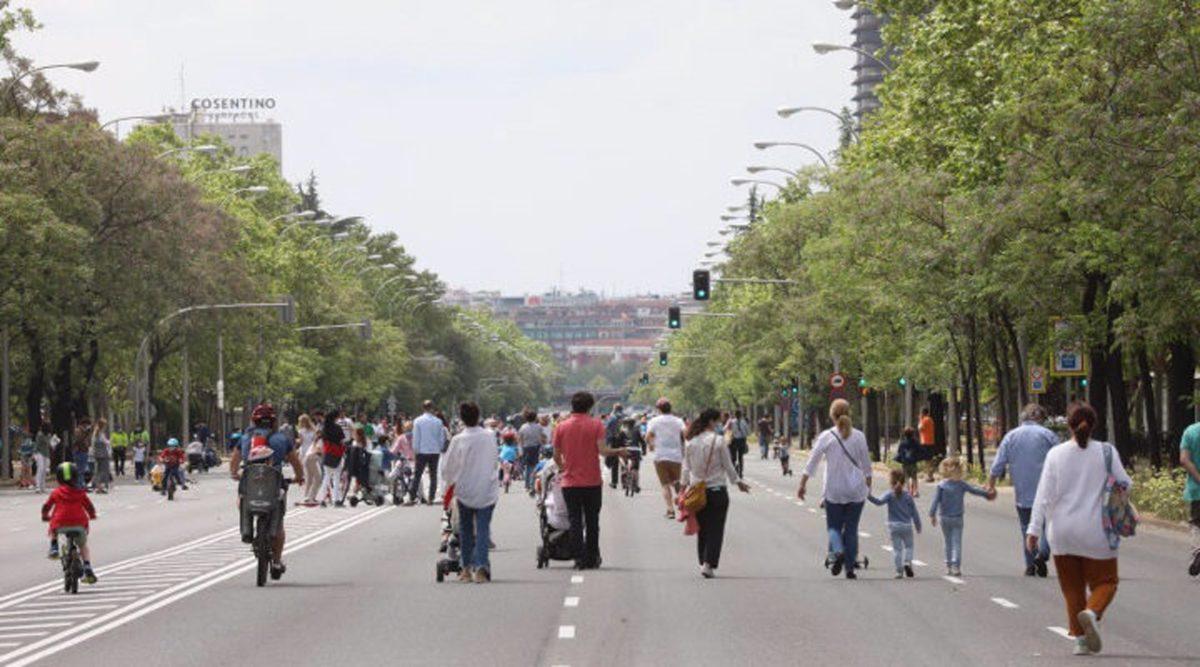 27 tramos de calles