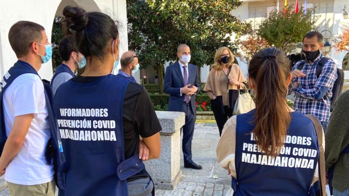 informadores COVID Majadahonda