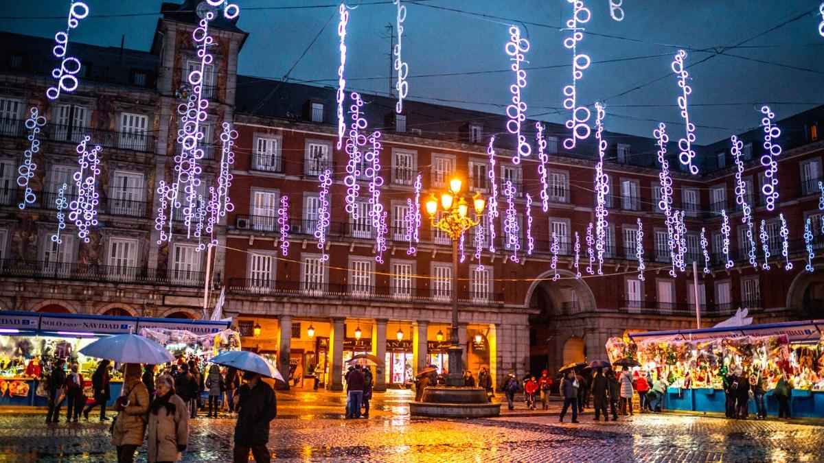 Planes Navidad en Madrid