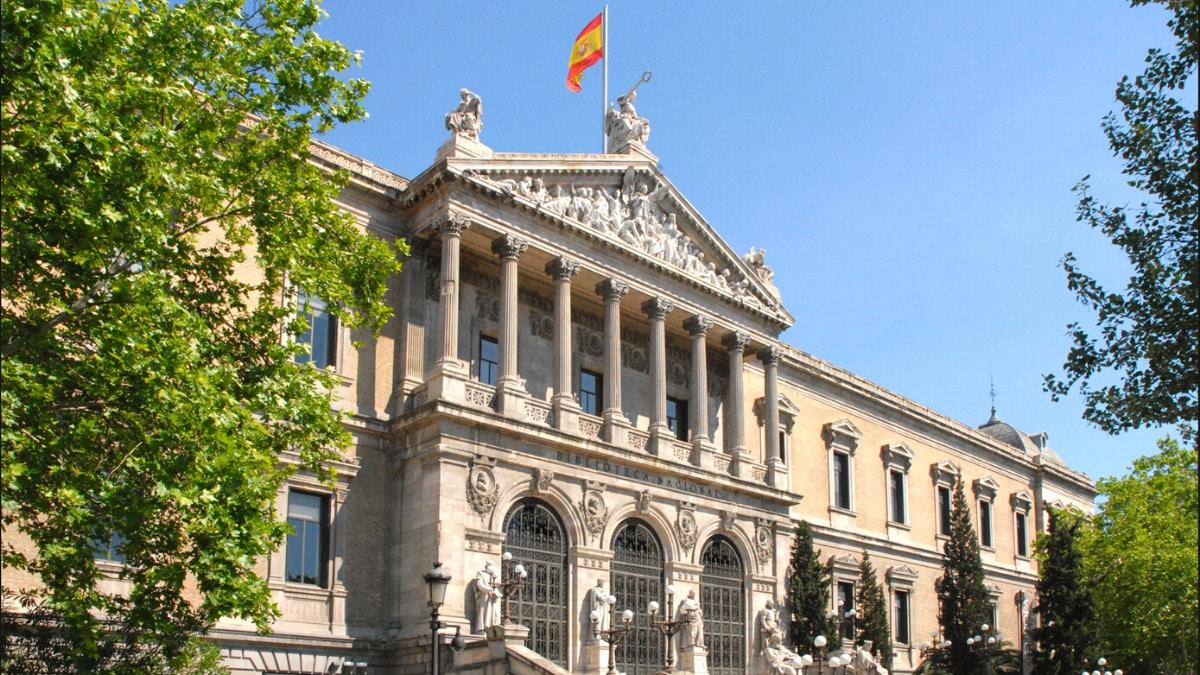 Biblioteca Nacional España digitaliza