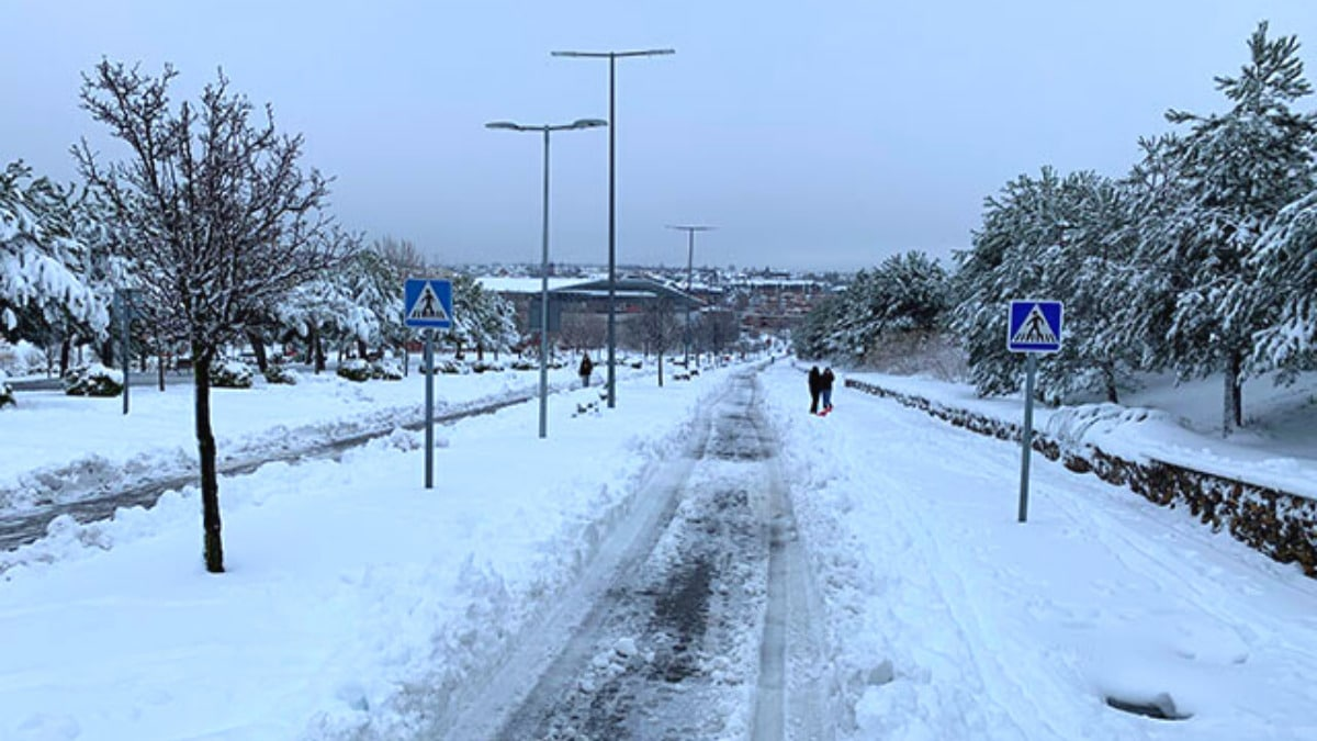 Las Rozas nieve