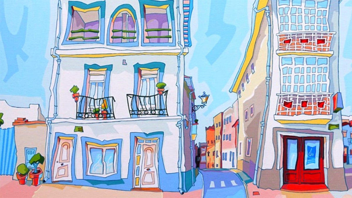 Muestra pintor Luis Valpuesta