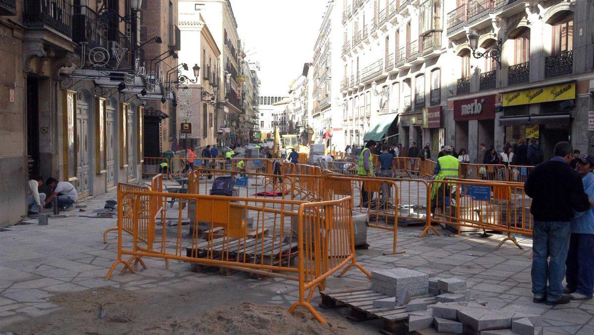 obras Montera y Arenal