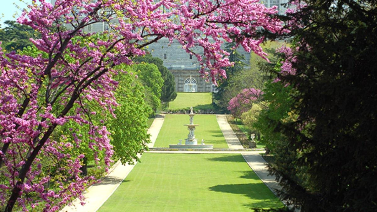 Jardines Campo del Moro primavera