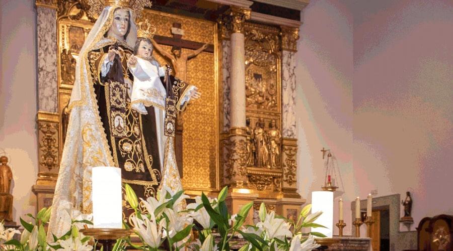 Festividad de la Virgen del Carmen en Pozuelo de Alarcón