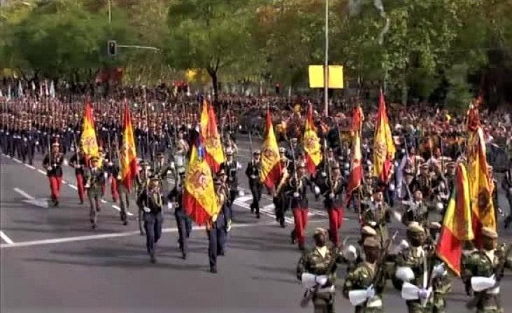 Cortes de tráfico Fiesta Nacional